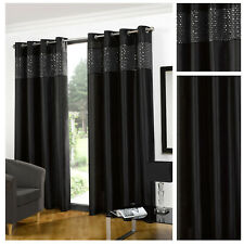 Glitz Eyelet/Ring Top Lined Curtain Pairs By Hamilton McBride® - 5 Great Colours