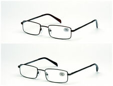 Stainless Steel Reading Glasses FREE CASE R7 +1.0 +1.5 +2.0 +2.5 +3.0 +3.5