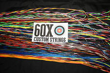 60X Custom Strings String and Cable Set for 2001 Bowtech Extreme Solo & Samson