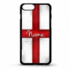 English flag cross personalised name case cover for Iphone 4 4S 5 5s 6 6 plus