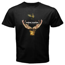 New IMAGINE DRAGONS *Smoke + Mirrors Rock Band Men's Black T-Shirt Size S-3XL