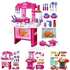 1 Set Funny Kids Child Kitchen Cookware Toy Cooking Baking Set Pretend Play Gift