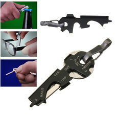 8-in-1 Keychain Gadget Utility Key Ring EDC Multi-function Pocket Tool Outdoor