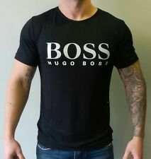 Hugo Boss T-shirt in Black(white logo). Size S M L XL 2XL 3XL