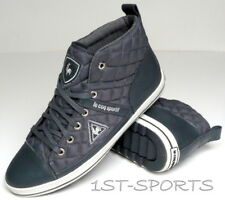 LE COQ SPORTIF MENS TRAINERS, SHOES TEMPLE MID SAWTOOTH QUILTED UK 6 to 10
