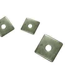Square Plate Washers A4 Stainless Steel/A2 Stainless Steel/BZP/Hot Dipped M10/12