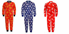 Official Boys Kids Manchester United/Chelsea/Liverpool FC Pyjamas Onesie