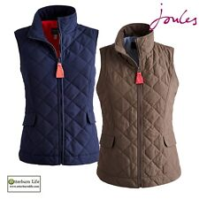 JOULES HARTLAND WOMENS QUILTED GILET / WAISTCOAT NEW IN SS15 (S) RRP £29.95