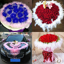 New Feather Boa Fluffy Flower Craft Costume Dressup Wedding Party Home Decor
