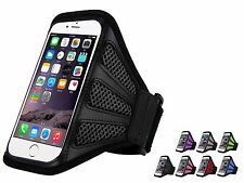 Sports Running Workout Mesh Armband Outdoor Phone Case Cover for iPhone 6 plus