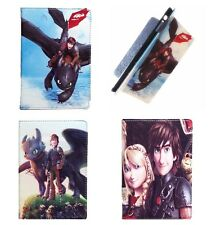Cartoon How to Train Your Dragon 2 PU Leather Cover Case For Apple iPad Mini