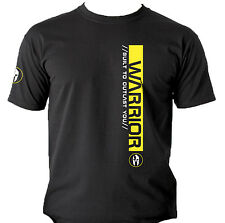 Pro Warrior T-Shirts 3 type UFC MMA Gym Workout Bodybuilding Crossfit Kettlebell