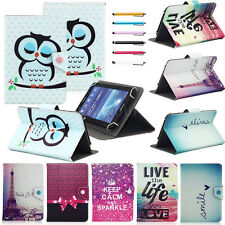 "Fashion Design 10"" Universal PU Leather Stand Cover Case For Most 10 Inch Tablet"