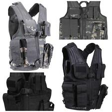NEW! Rothco Kid's Tactical Cross Draw Vest in ACU DIgital and Black! R5598