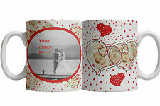personalised valentines day mug add your photo 4 designs to choose from
