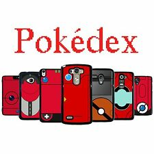 Pokedex Pokemon for Moto G E X LG G2 LG G3 Xperia z 1 2 3 Amazon Fire Phone Case