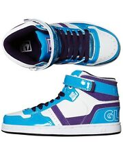 Kid's Globe Superfly Leather Lace Up High Top Shoes. Size 5,7. NIB, RRP $69.95