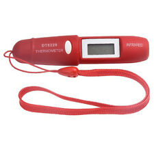 Non-Contact Infrared Temperature Mini Pocket IR Thermometer LCD Pen With Battery