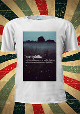 Nyctophilia Love Of Darkness Finding Tumblr T Shirt Men Women Unisex 1495