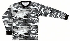 THERMAL SHIRT URBAN CAMOUFLAGE LONG SLEEVES  SIZES 3X,4X,5X,6X