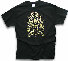Men T Shirt Gold Warrior Aztec Mayan Inca Peru Machu Picchu Chile Ecuador Sm 3XL