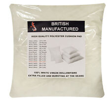2 OR 4 x Hollowfibre Cushion Pads Inserts Inners Fillers (ALL Sizes Available)