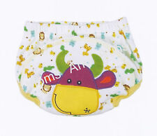 1x Potty Training Pants for Girls Boys Unisex Sizes from 80 90 100 - Cow Design