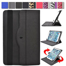"AR2 Kroo 360 Degree Rotating Folding Folio Stand Cover fit 9"" Tablet E-Reader"