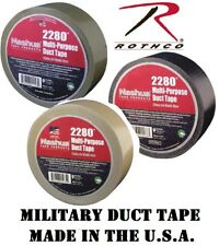 "Duct Tape Military Tape 100 Mph Duct Tape Self Clinging Tape 2"" x 60 Yards"