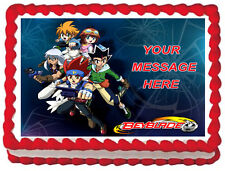 BEYBLADE Party Edible image Cake topper decoration