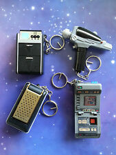STAR TREK ELECTRONIC KEYRING KEY RING FOB LIGHT AND SOUND COLLECTION TOY PROP