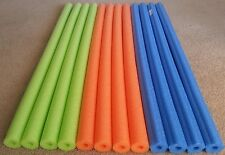 Pool Noodle water floating Foam swimming Fishing Craft Therapy Green Blue Yellow