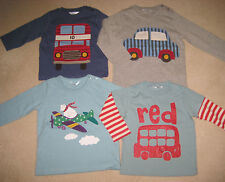 Baby Boden Applique Printed  T Shirt Top 6 months -3 years polar bear bus car