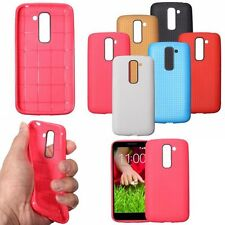 Soft TPU Silicone Rubber Back Case Protective Cover For LG G2 Mini D618 D620