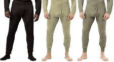 BLACK,FOLIAGE,DESERT BOTTOM Military ECWCS Gen III Silk Weight Thermal Underwear