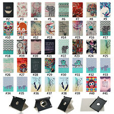 360° PU Leather Stand Flip Case Cover For Amazon Kindle Fire HD 7 2014 4th Gen