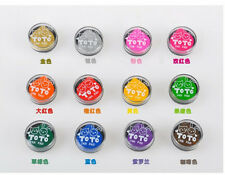 Colorful Water Drop Ink Pad Craft Oil Based Fabric Paper Rubber Mini Stamp DIY