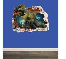 Marvel WALL SMASH, Smashed Wall - LARGE, Children wall art sticker decal