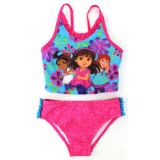 Dora and Friends Toddler Girls Pink Tankini Swimwear 757088DF 2T 3T 4T