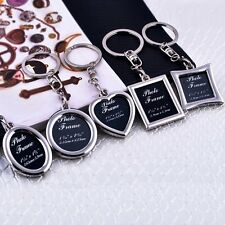 Mini  Creative Metal Alloy Insert Photo Picture Frame Keyring Keychain Gift Hot