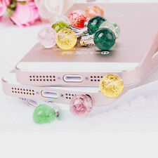 Luminous Universal 3.5mm Earphone Jack Anti Dust Plug Cap For iPhone Samsung EP