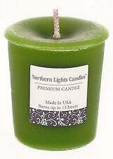 1-15 Hour Country Apple Scented Premium Votive Candle~With Holder~USA Made~NL