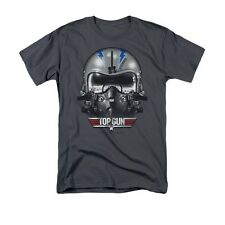 TOP GUN ICEMAN HELMET Officially Licensed Men's Graphic Tee Shirt SM-3XL