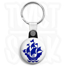 Blue Peter Badge - 25mm Retro Kids Keyring Button Badge with Zip Pull Option