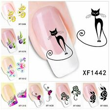 Fingernägel Nagel Sticker Tattoo Aufkleber Nail Art Nagelsticker Nageldesign