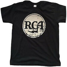 RCA RECORDS - DISTRESSED LOGO - OFFICIAL MENS T SHIRT
