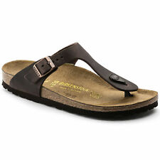 Birkenstock Oiled Leather Gizeh $179.95rrp - Habana Brown - BNIB
