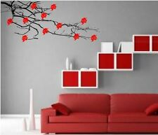 GIANT TREE BRANCH WITH FLOWERS WALL STICKER Wall Art Decal