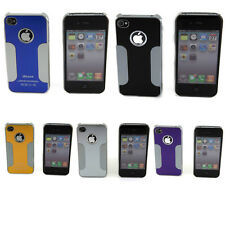 New Premium Chrome Aluminum Durable Hard Case For Apple iPhone 4 4G 4S