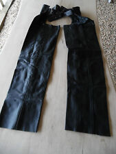 Real Leather Braided Chaps M, L, XL  H336A
